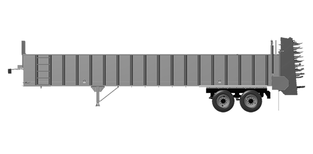 Artex Manufacturing CT-3804-complete Silage Trailer
