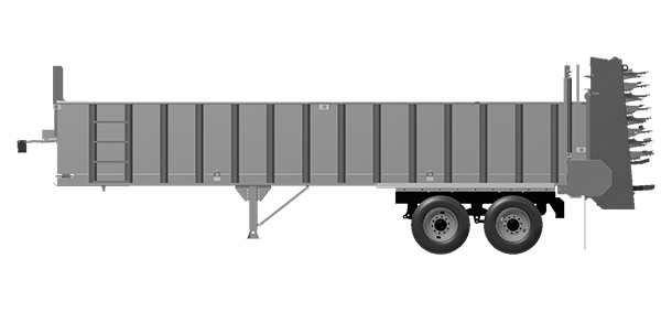 Artex Manufacturing CT3004 Silage Trailer