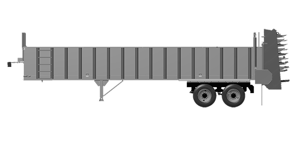 Artex Manufacturing CT3404 Silage Trailer