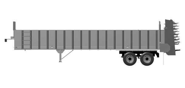 Artex Manufacturing CT3604-complete Silage Trailer
