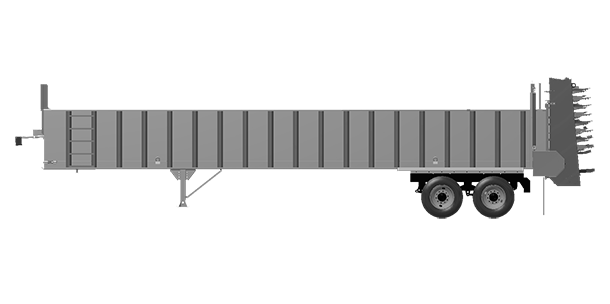 Artex Manufacturing CT4004-complete Silage Trailer