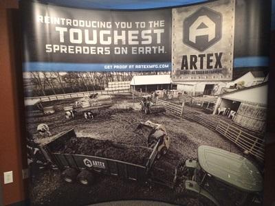 Artex Trade Show Booth
