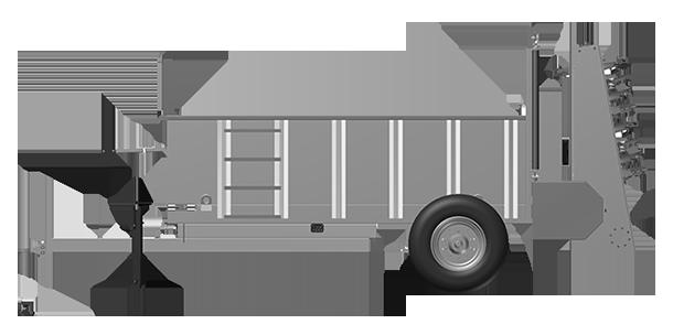 Artex Manufacturing SB300 Manure Spreader