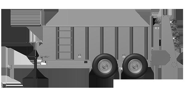 Artex Manufacturing SB450 Manure Spreader