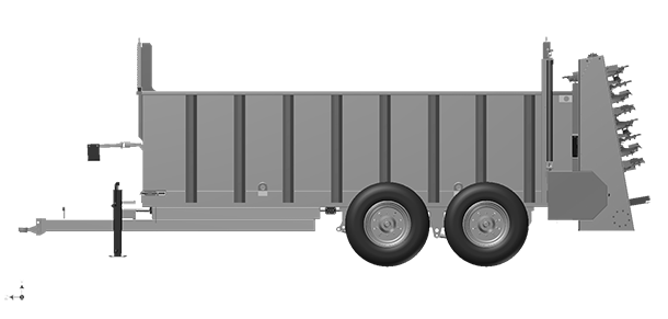 Artex Manufacturing SB500 Manure Spreader