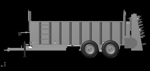 Artex Manufacturing SB550 Manure Spreader