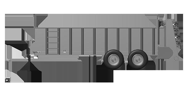 Artex Manufacturing SB600 Manure Spreader
