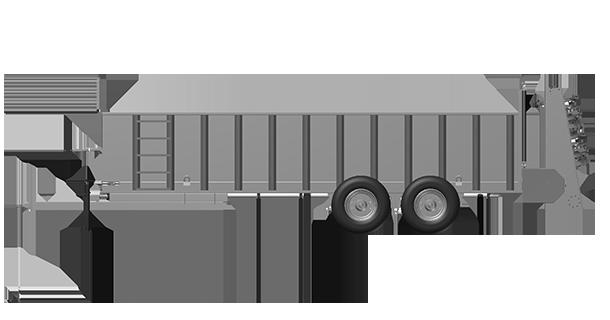 Artex Manufacturing SB700-TANDAM Manure Spreader