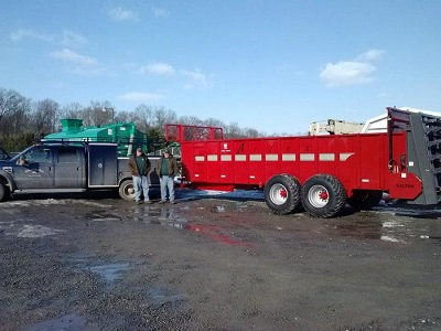 Harnish's SB 700 Manure Spreader