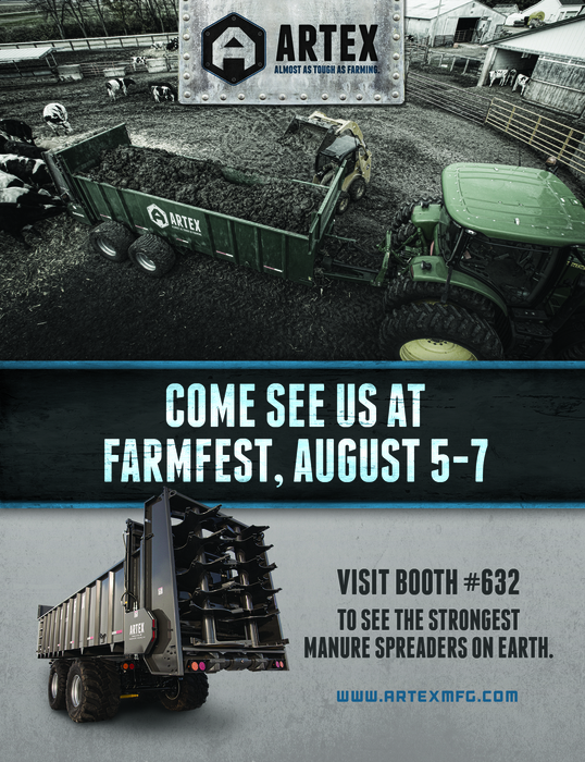 Artex at Farmfest Booth 632