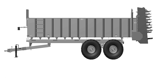 Artex Manufacturing TR Series Manure Spreaders