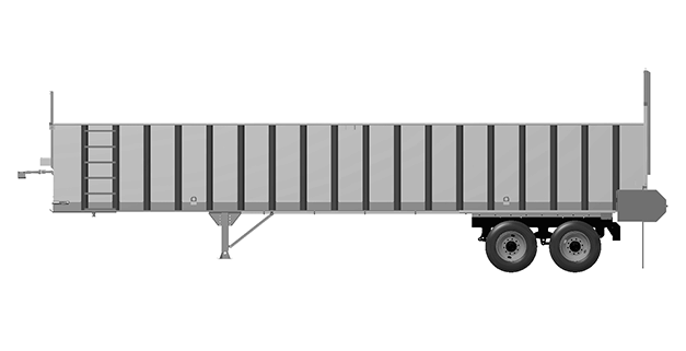 Artex Manufacturing TR Series Silage Trailer